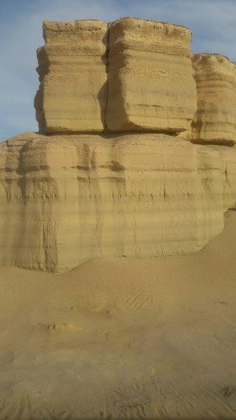 Desert in Fayoum oasis