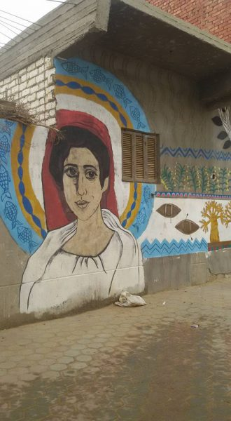 Tunis village graffiti