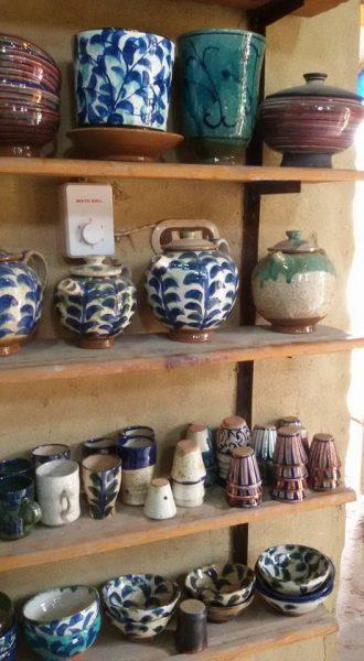 Tunis Village pottery