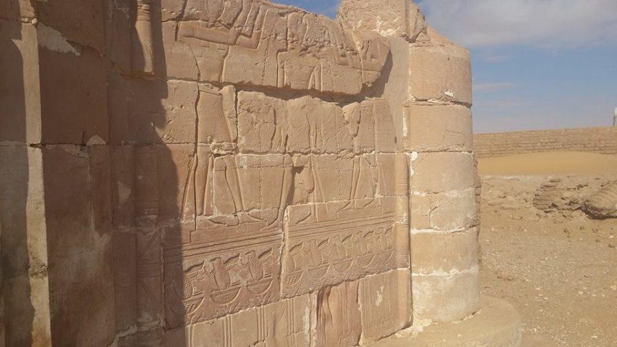Deir El Hagar in Dakhla oasis