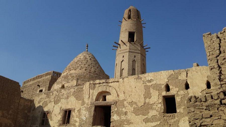 Ayyubid mosque in Al Qasr in Dakhla
