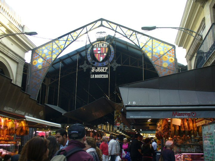 Boqueria Market entrance