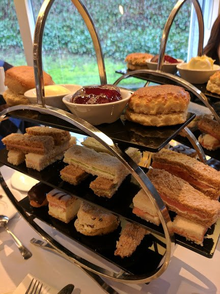 Afternoon tea at Kew Gardens