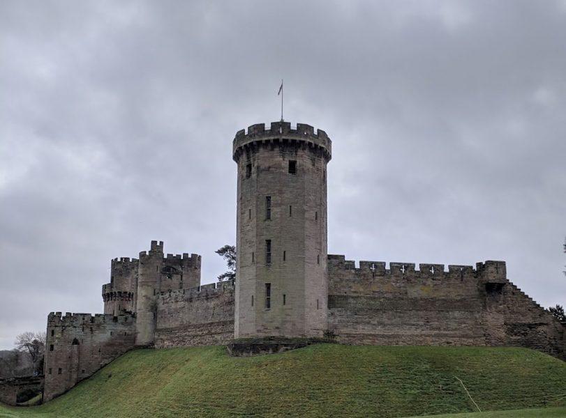Warwick Castle was built in 1066 by William the Conqueror