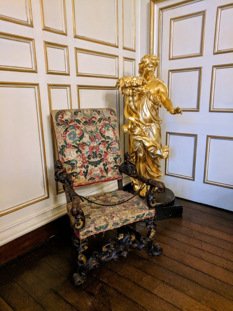Furniture, paintings and objects from the world are displayed at Warwick Castle