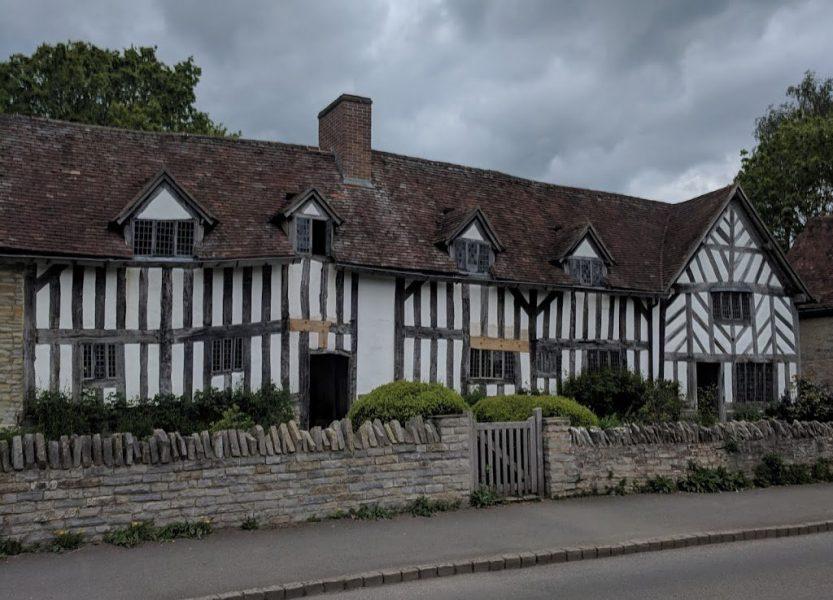 Mary Arden's Farm where Shakespeare's mother grew up
