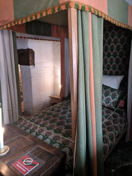 The Birthplace Parlour had the best bed in the house for guests