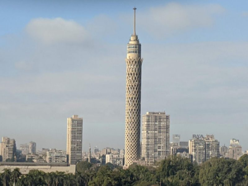 Cairo Tower in Gezira, Cairo