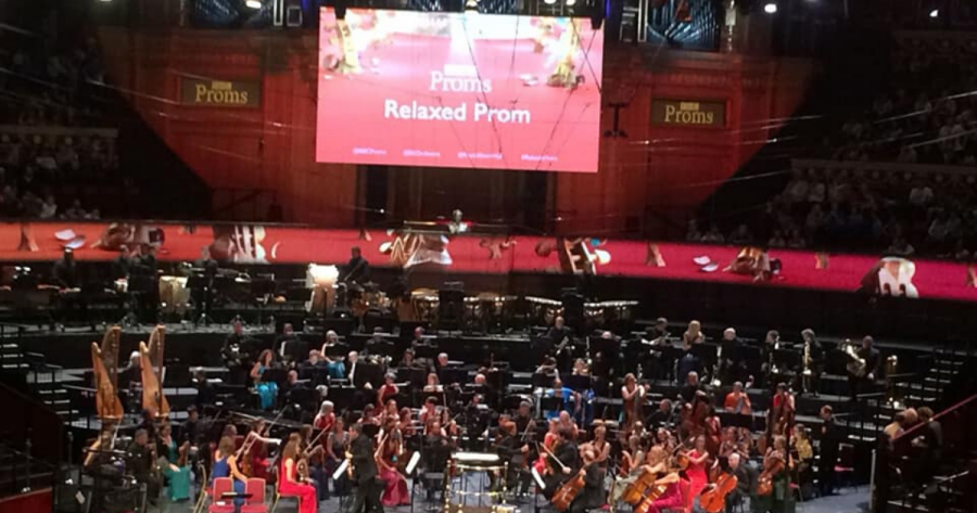 Royal Albert Hall relaxed performance of the BBC Prom