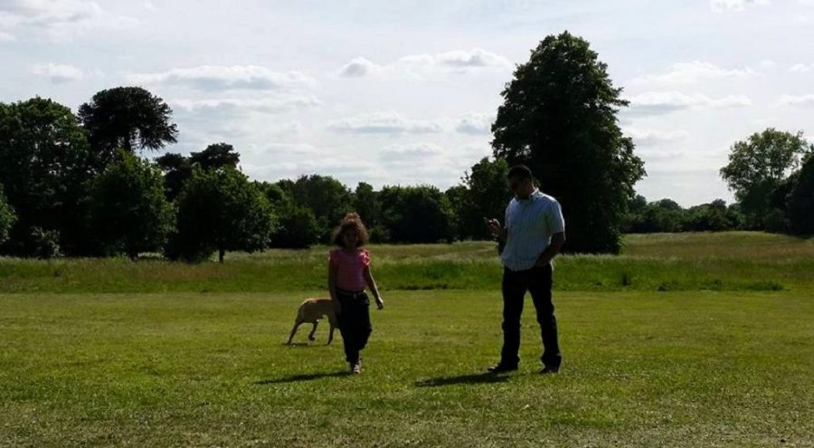Family at Nonsuch Park