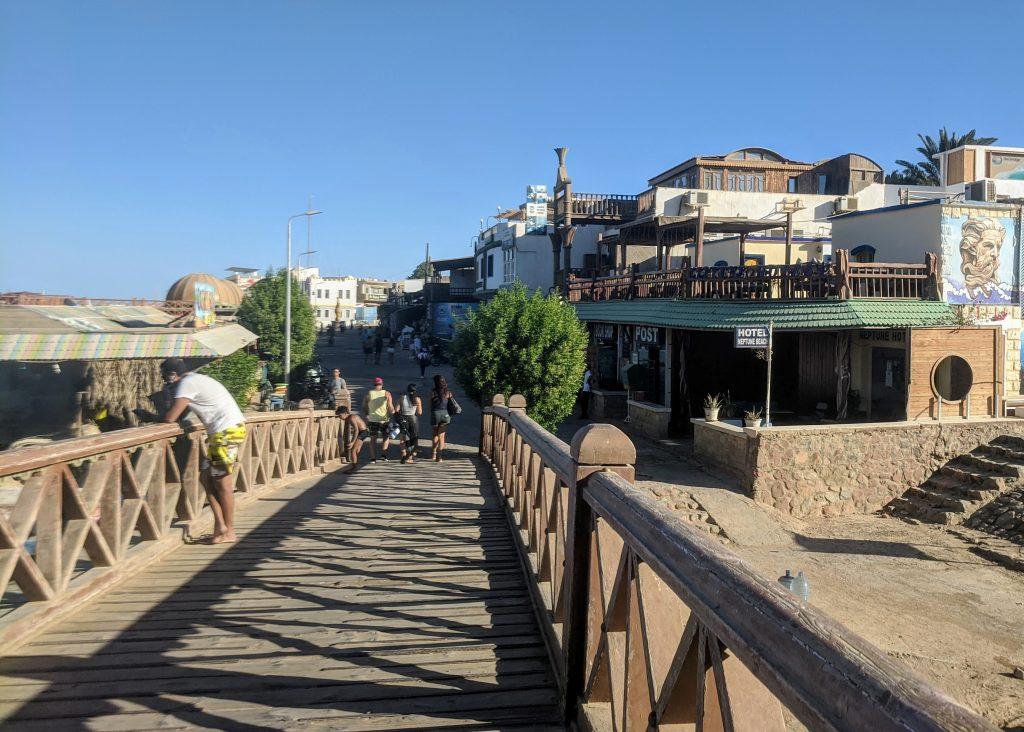 Walkway in Dahab