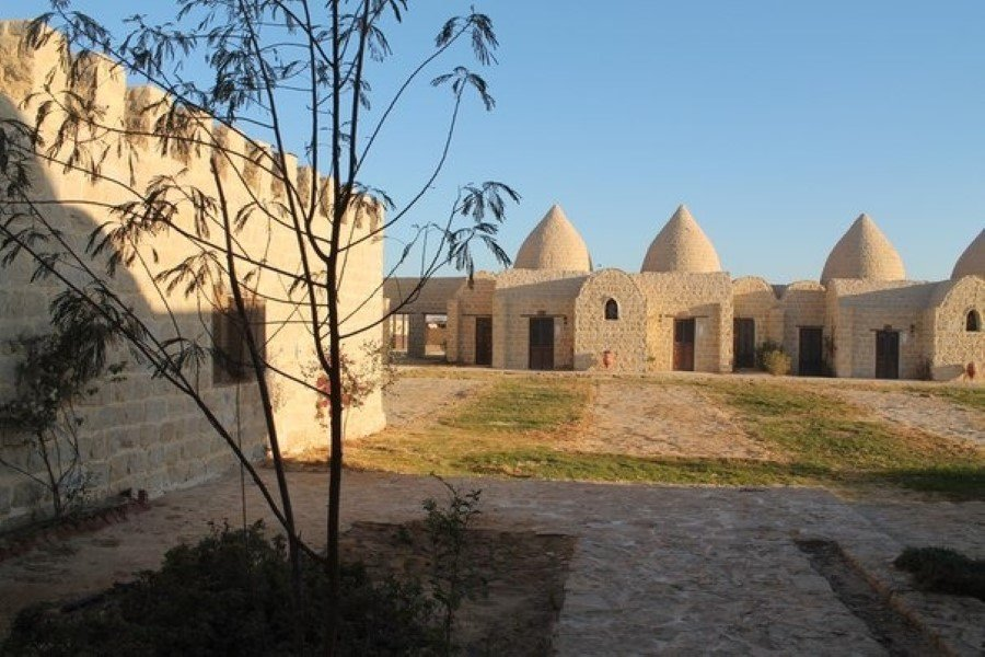 New Hermopolis retreat in Minya, Egypt
