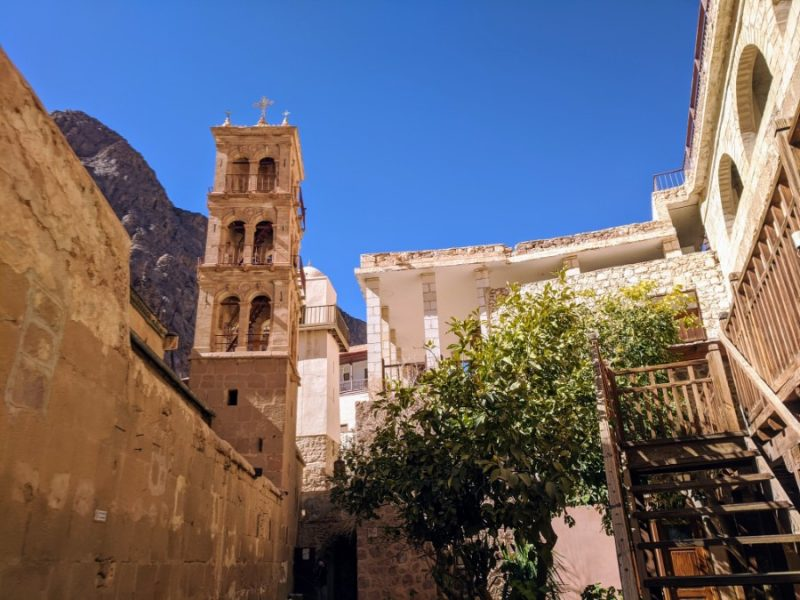 Saint Catherine's Monastery in South Sinai
